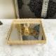 Bilgeden Jardinyer Aynalı Altın Kaplama Peçetelik