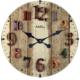 Markakanvas Ahşap Vintage Duvar Saati