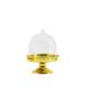 Tahtakale Toptancısı Kutu Cupcake Ayaklı Modeli Altın/Gümüş (10 Adet)