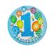 Tahtakale Toptancısı Tabak Karton 1 Yaşındayım Balonlu 23 Cm (8 Adet)