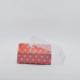 Tahtakale Toptancısı Asetat Kapaklı Karton Kutu Kalpli 9X9X3 (50 Adet)