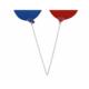 Tahtakale Toptancısı Balon Çubuğu Plastik 35 Cm (100 Adet)