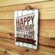 Oldwooddesign Happy Birthday Tablo