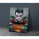 Javvuz Superman - Metal Poster