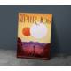 Javvuz Kepler 16B Nasa Metal Poster