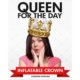 Npw Queen For The Day - Şişme Kraliçe Tacı