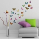 DekorLoft Renkli Kelebekler Duvar Sticker Ds-1505