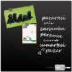 Ejoya Dekoratif Cam Yazı Tahtası - Siyah
