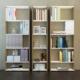 Eyibil Mobilya Güneş 3 ' lü Modern Kaliteli Kitaplık Ceviz - Beyaz