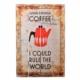 Decotown Coffee Ahşap Pano 40*60 (18042)