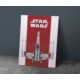 Javvuz Star Wars X-Wing - Metal Poster