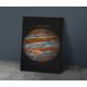 Javvuz Gezegen Jupiter - Dekoratif Metal Plaka