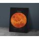 Javvuz Gezegen Venüs - Dekoratif Metal Plaka