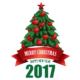 Ejoya Yeni Yıl Ağacı Duvar Sticker 60 X 78 Cm 74078