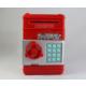 Klc Şifreli Kasa Kumbara Kırmızı