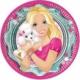 Partiland Barbie Tabak 8 Adet 23 Cm