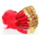 Smartevim Nedime Tacı Kırmızı Paralı Kına Tacı Özel 10 Ad Kına Malzemeleri