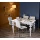 Mobusta Milord Parlak Beyaz Mutfak Ve Salon Yemek Masası
