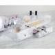 Kozmetik düzenleyici 2 çekmeceli ekstra bölmeli organizer