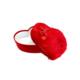 KullanAtMarket Peluş Kalp Kutu Kırmızı Küçük Boy 20 Cm