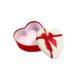 KullanAtMarket Kalp Kutu Kırmızı - Beyaz Orta Boy 19 Cm