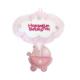 KullanAtMarket Hoşgeldin Bebeğim Pembe Puset Kapı Süsü