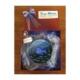 Vago Minds El Boyama Dekoratif Cam Bardak Altlığı - Balık