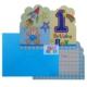 Partioutlet 1 Yaş Davetiye - Mavi