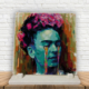 KFBiMilyon Frida Kahlo Gözyaşı Baskılı Doğaltaş Masa Dekoru