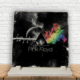 KFBiMilyon Pink Floyd Prisma Baskılı Doğaltaş Masa Dekoru