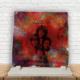 KFBiMilyon The Doors Baskılı Doğaltaş Masa Dekoru