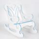 Prado Sallanan Çocuk Sandalyesi Sallanan Koltuk Mavi