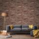 Bien Taş Tuğla Desen 9010 Duvar Kağıdı Model Yılı 2017 (5 M²)
