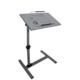 Hodbehod Koltuk Kenarı Eğim Ve Yükseklik Ayarlı Tekerli Laptop Sehpası Masası