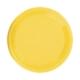PartyTime Sarı Yuvarlak Tabak