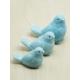 Porselen dekoratif 3 boy kuş