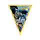 Tahtakale Toptancısı Batman Üçgen Flama Bayrak Set