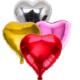 Tahtakale Toptancısı Kalp Folyo Balon Küçük Boy 45 x 43 Cm