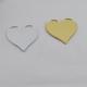 Tahtakale Toptancısı Pleksi Aynalı Kalp - Flexi Kalp 5 x 5 Cm