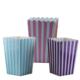 Tahtakale Toptancısı Popcorn Kutusu Karton Çizgili (Mısır Cips Kutusu) (12 Adet)