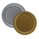Tahtakale Toptancısı Tabak Karton Eko Metalik 23 Cm (8 Adet)