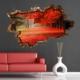 3D Art Sonbahar – 3D Sticker 150x100 cm