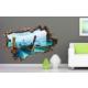 3D Art Bahamalar – 3D Sticker 150x100 cm