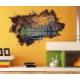 3D Art Gölet – 3D Sticker 70x45 cm
