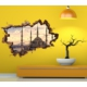 3D Art Yeni Camii – 3D Sticker 70x45 cm