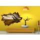 3D Art Zürafa – 3D Sticker 70x45 cm