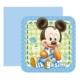 Sweetsorcery Baby Mickey Davetiye 6 Adet