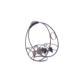 Loveq Şişelik Metal 26X10X26 Cm Drn-48401