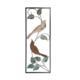 Loveq Kuş Figürlü Metal Pano 28X73 Cm Drn-52505
