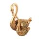 Ubi Home Dekoratif Altın Yavrulu Kuğu